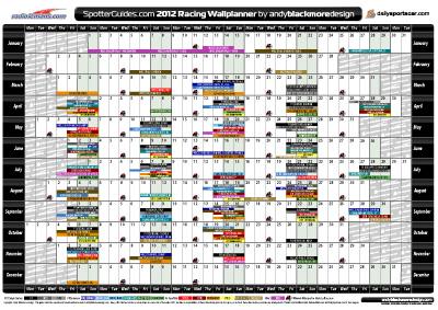 Planner Download 2012 2012 Racing Planner