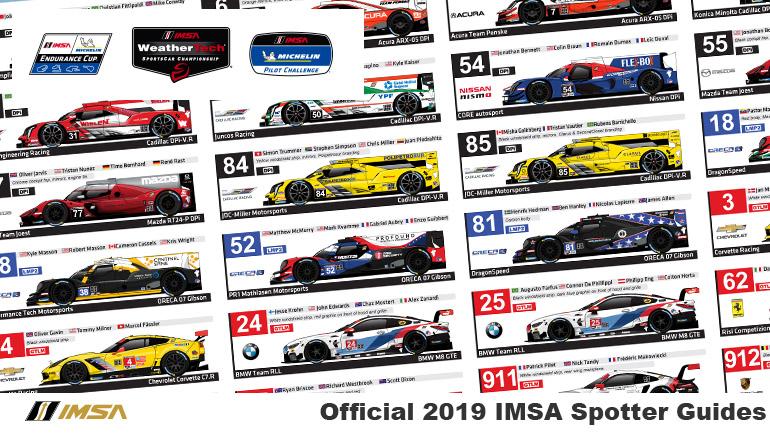 2019 Official IMSA Spotter Guide